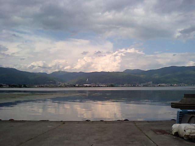 t*[旅] 諏訪湖