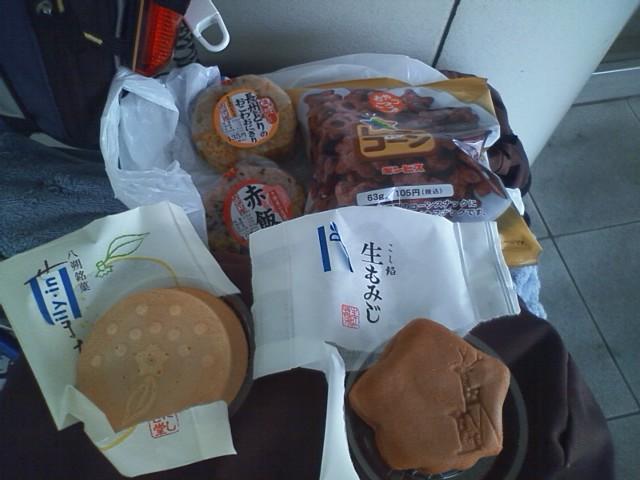 三原駅 朝食?