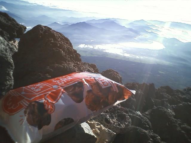 [富士登山]頂上到着