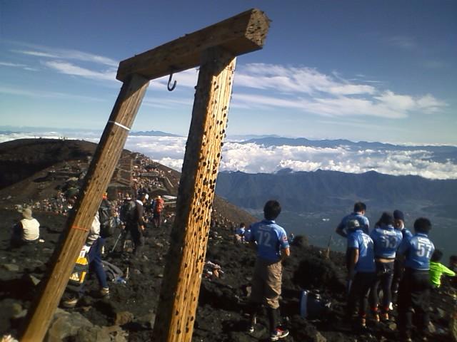 [富士登山]3776mは諦めて近場の高い所に登った