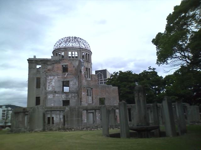 [広島発自転車旅行]予定は決めてなかったが、やはりここにたどり着いた