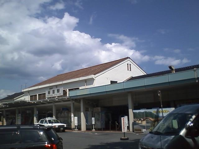 山口県 岩国駅到着 http://maps.google.com/maps?q=34.169022,132.227544&spn=0.058790,0.070124