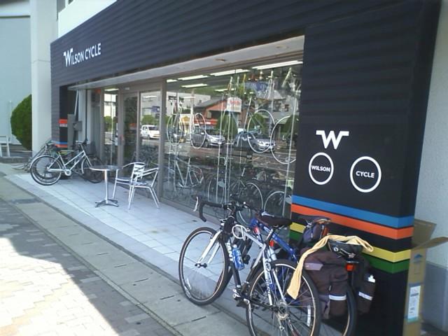 桑名市 国道一号に合流 自転車屋を見つけたので入ってみる