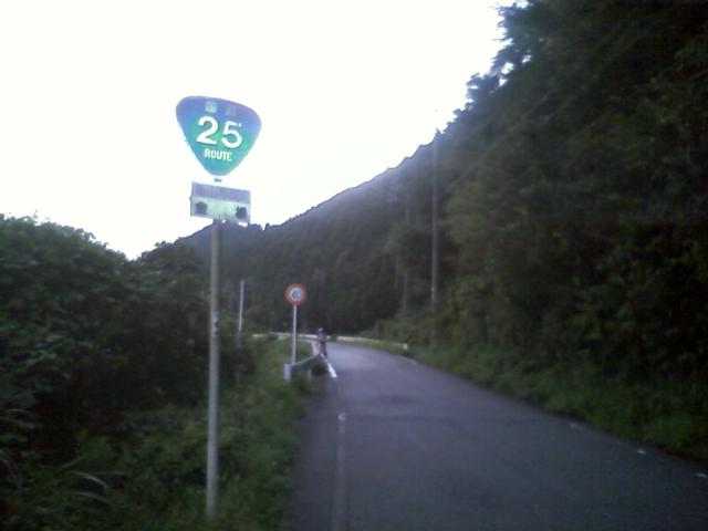 道間違えたので関まで戻って国道25号へ  25号クオリティ高すぎw