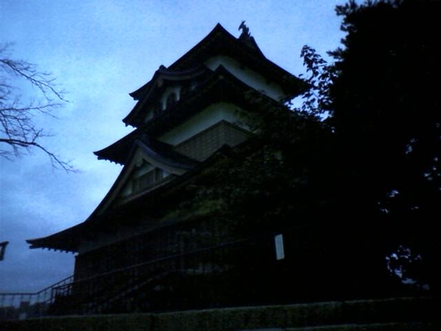 高島城 ここ2年前に来たな