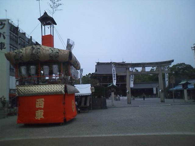 真澄田神社 一宮というからには神社に行かねば