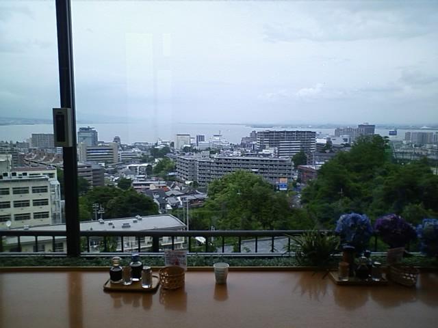 905K 大津SA 琵琶湖を一望