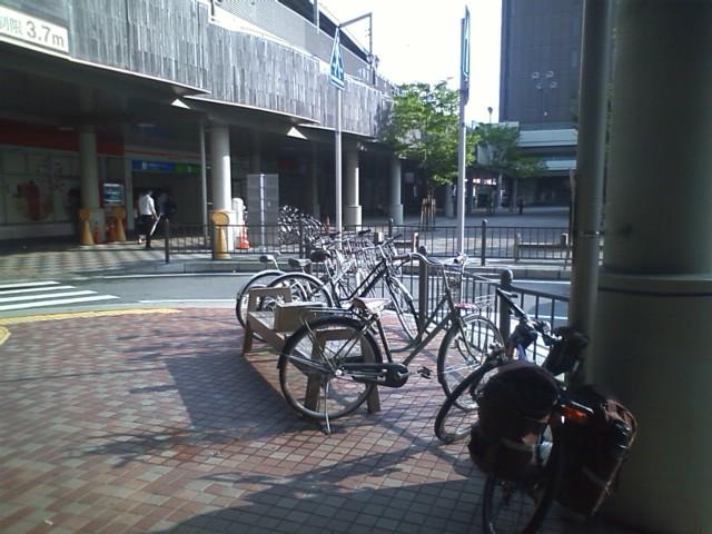 西鉄久留米駅 漫画喫茶で一泊して出発!晴れてるけど午後雨予報なんだよなぁ。