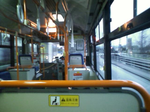 すれ違った出雲大社行きのバスに6人くらいしか乗ってなかった。まぁみんな車で行くよね。