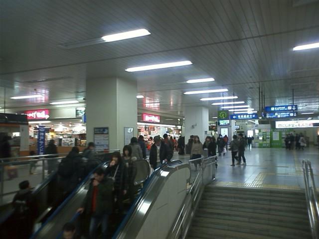 広島駅到着
